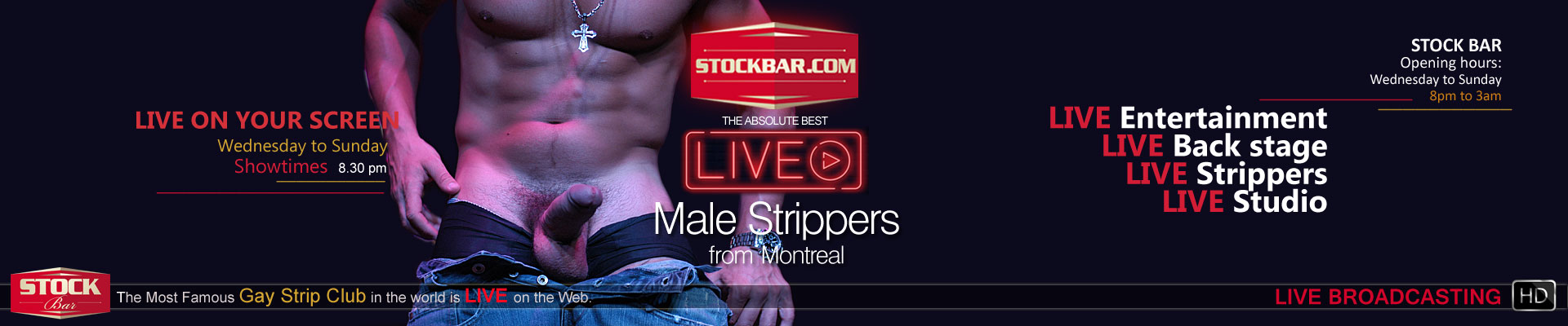 Best Male Strippers in North America