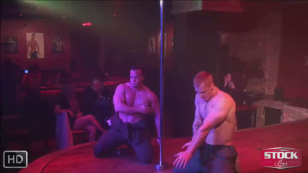Video of sexy male stripper