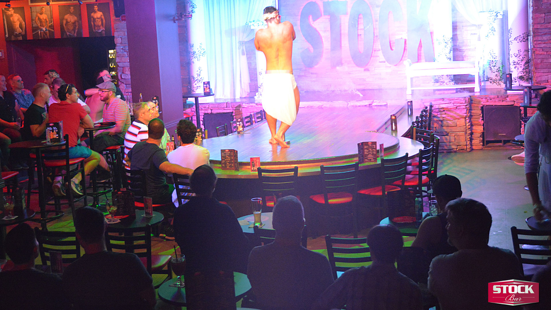 Stock bar best male strippers live on the web