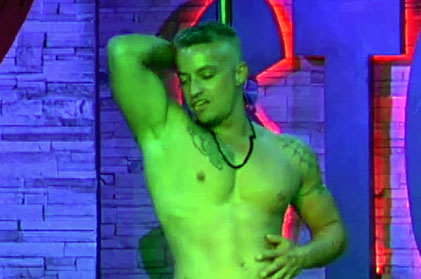 Video of sexy male stripper dylan