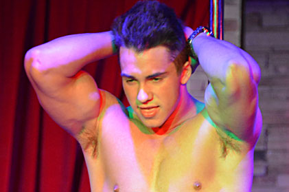 Video of sexy male stripper philippe