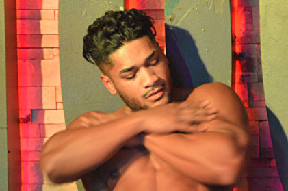 Video of sexy male stripper rico