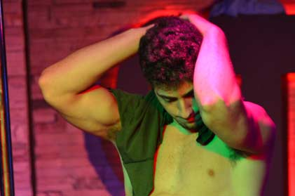 Video of sexy male stripper sergio