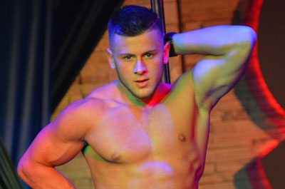 Video of sexy male stripper yannick